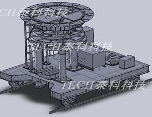 液压修炉车