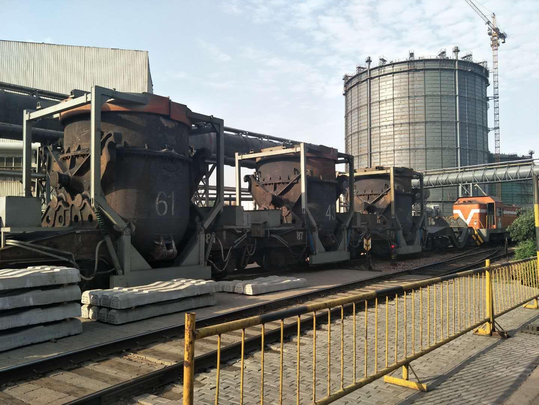 敬业100t铁水罐车全程加盖改造项目案例